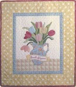 Breath of Spring ~Quilt Pattern ~ Late Bloomer Quilts