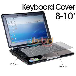 Laptop Notebook Keyboard Cover Skin Protector 8 10
