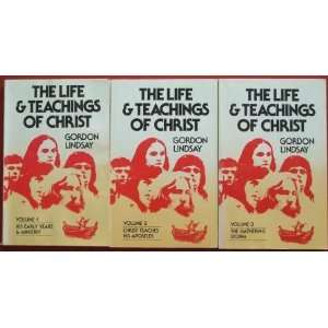 the Life Teachings of Christ Three Volume Set Books