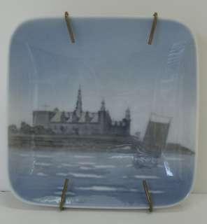 Royal Copenhagen KRONBORG 3358 MINIATURE Plate