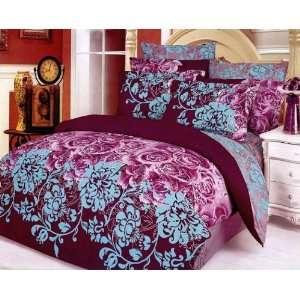 Le Vele Caspian   Duvet Cover Bed in Bag   Full / Queen Bedding