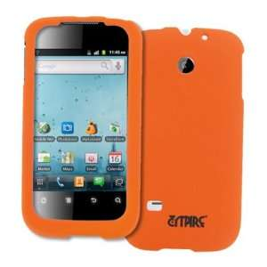 EMPIRE Orange Rubberized Hard Case Cover for Huawei Ascend