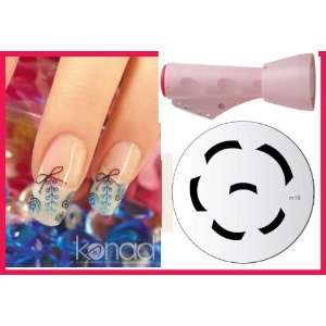 Image Plate M19 Bar Design  Nail Art + Holiday A viva Nail Kit Beauty