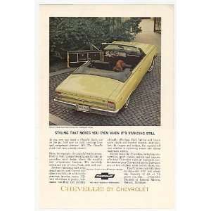 1964 Chevy Chevelle Malibu Super Sport Convertible Print