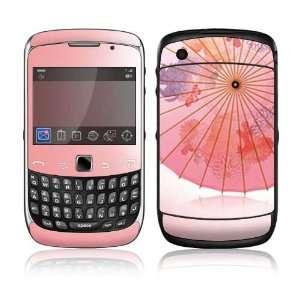 BlackBerry Curve 3G Decal Skin Sticker   Japanese Umbrella