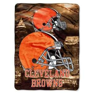 NFL Cleveland Browns AGGRESSION 60x80 Super Plush Throw