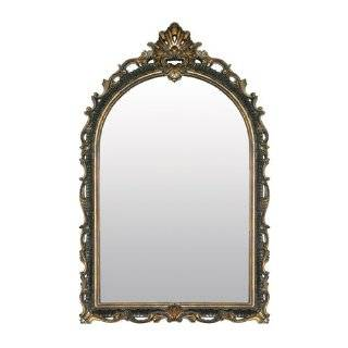 Arch Top Mirror (Silver/Gold) (45H x 29W x 1D)