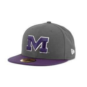 Era 59FIFTY NCAA 2 Tone Graphite and Team Color Hat: Sports & Outdoors