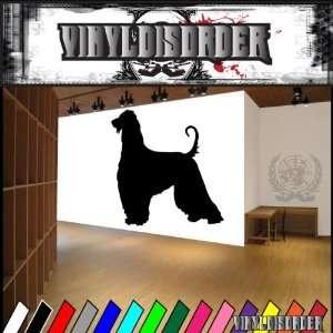 Dogs hound afghan hound 5 Vinyl Decal Wall Art Sticker