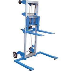 Hand Winch Truck   Straddle Design, 500 Lb. Capacity, Model# A LIFT S