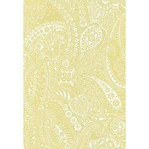Paisley Print Spring by F Schumacher Wallpaper