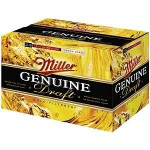 Miller Genuine Draft 24pk Btls Grocery & Gourmet Food