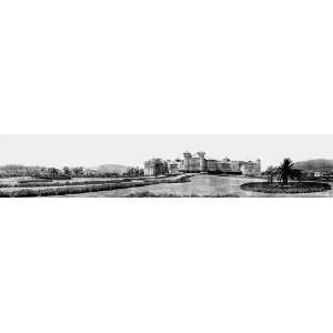 PANORAMA OF SANTA BARBARA CALIFORNIA HOTEL POTTER 1908