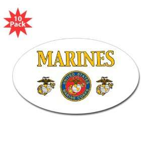 ) (10 Pack) Marines United States Marine Corps Seal