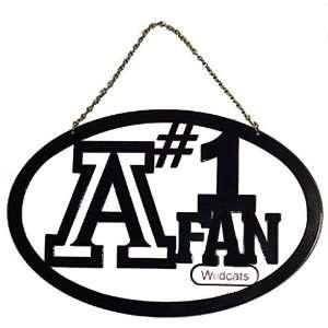 Arizona Wildcats UA NCAA Hanging Sign