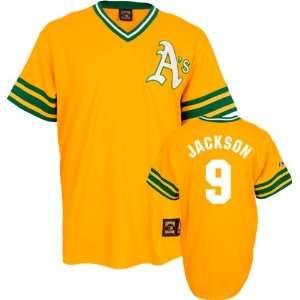 Reggie Jackson Majestic Cooperstown Throwback Oakland Athletics Jersey