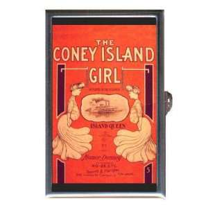 Coney Island Retro Sheet Music Coin, Mint or Pill Box