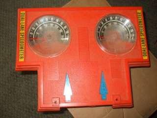Vintage HOT WHEELS Speedometer Dual Lane 1970s Mattel NO BOX