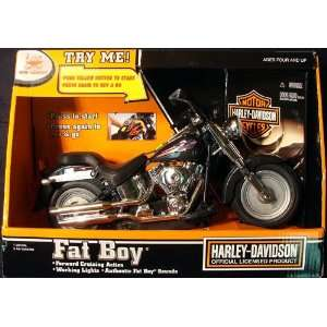 Harley Davidson Fat Boy Motorcycle Toys & Games