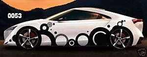 Car Body Vinyl Graphics   nissan/honda/acura/toyota
