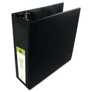 Wilson Jones 38349B Basic Vinyl D Ring Binder, 3 in. Capacity, Black