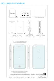for Apple iPhone 4 (High Definition Full Body Protection Film Set