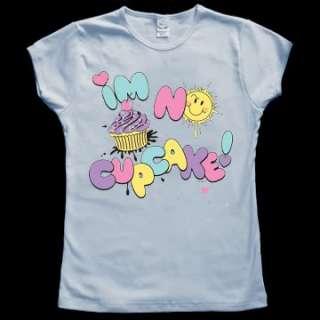 no Cupcake Cute Funny Baby Doll Tee JUNIOR T SHIRT