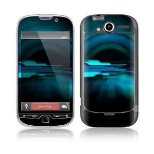 Abstract Future Night Blue Decorative Skin Cover Decal Sticker for HTC