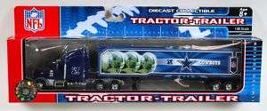 DALLAS COWBOYS NFL TRACTOR TRAILER SEMI TRUCK RIG NEW |
