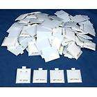 100 14Kt Gold White Puff Earring Cards Showcase Display