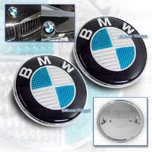 BMW 92 99 E36 3 Series & M3 Carbon Fiber Hood Trunk Roundel Emblem