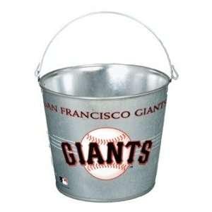 San Francisco Giants MLB 5 qt Metal Ice Bucket/Pail