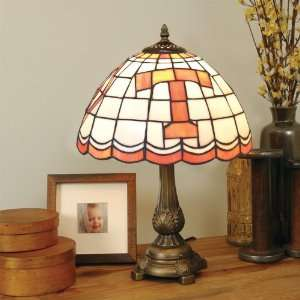 TENNESSEE VOLUNTEERS 20 Hand Cut Stained Glass TIFFANY TABLE LAMP