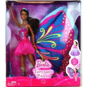 African American Barbie Fairy tastic Princess (T4553