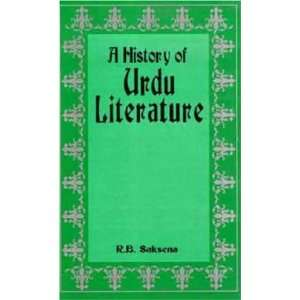 History of Urdu Literature (9788129200204) Ram Babu Saksena Books