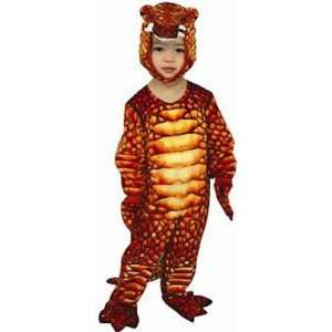 Boys Red Lizard Toddler Halloween Costume (Small) Toys