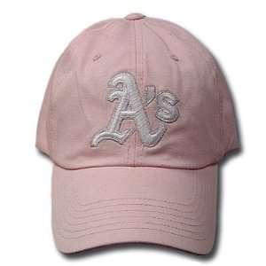 MLB OAKLAND ATHLETICS LADY GIRL PINK HAT CAP NEW ADJ