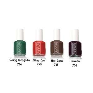Essie Winter Collection 2010 4pc Color 734 738 735 736 Beauty