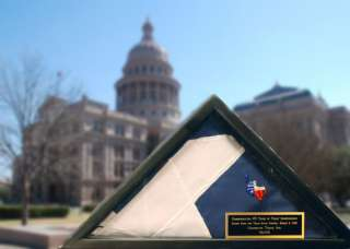 Commemorative 175th Anniversary Texas Flag