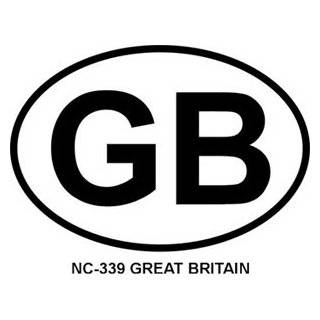 United Kingdom, Great Britain UK Flag Car Bumper Sticker