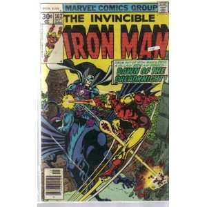 The Invincible Iron Man #102September 1977 Gerry Conway