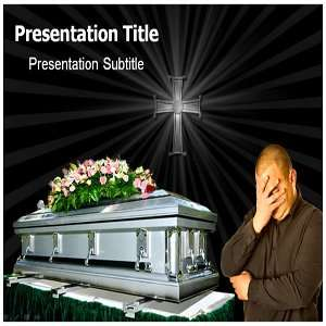 Funeral PowerPoint Template   Funeral PowerPoint (PPT) Backgrounds