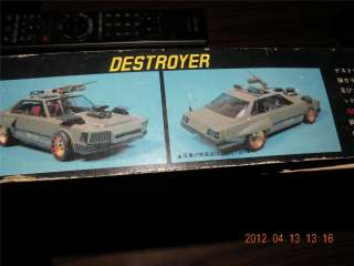 FUJIMI 1/24 DESTROYER MAD MAX POLICE MOTORIZED CAR KIT