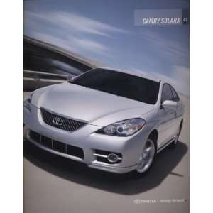 2007 Toyota Camry Solara Deluxe Sales Brochure Everything