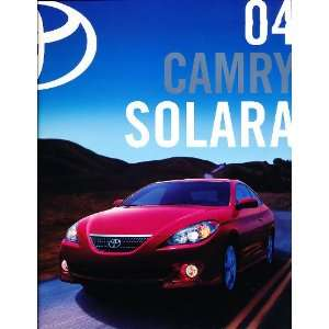 2004 Toyota Camry Solara Deluxe Sales Brochure Everything