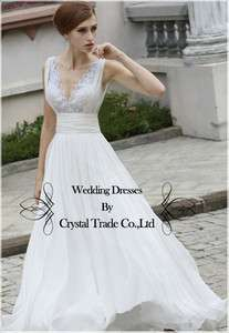 2012 Elegant Chiffon/lace Bridesmaid Prom Evening dress Party Formal