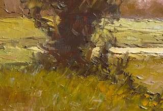 Virbickas art original oil painting EARLY MORNING