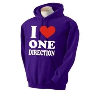 Love One Direction Hooded Sweatshirt Hoody Hoodie X factor Harry