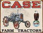 vinage original case farm machinery in sign racor rare |