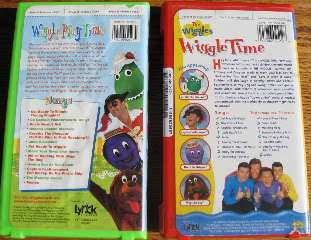 lot 4~children WIGGLES DVD~PLAY TIME~BIG RED BOAT~WIGGLE